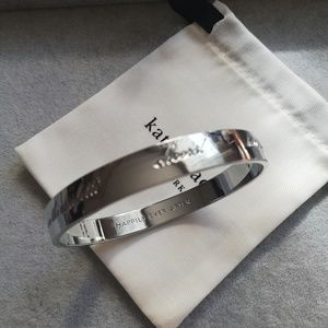 NWOT Kate spade happily ever after idiom bangle